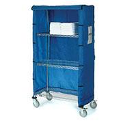 "Nylon Cover, 72""W X 18""D X 63""H, Blue"