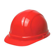 ERB™ Omega II Hard Hat, 6-Point Ratchet Suspension, Red, 19952