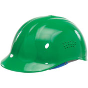 ERB™ Vented 4-Point Suspension Bump Cap, Green, 19118