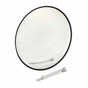 "Outdoor Wide Angle Convex Safety Mirror, 26"" Diameter, Acrylic, 160°"