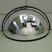 "Half Dome Ceiling Mirror, 26"" Diameter, 180°"
