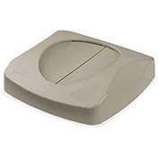 Lid For 23 Gallon Square Waste Receptacles - Beige