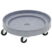 Drum Dolly for 30 & 55 Gallon Drums, Plastic, 900 Lb. Capacity
