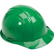 ERB™ Americana Hard Hat, 4-Point Pinlock Suspension, Green, 19768