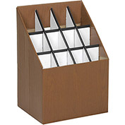 Safco Blueprint Storage Roll Files, 12 Tube Capacity