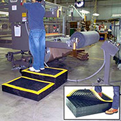 Stackable Platform Anti-Fatigue Drainage Mat, Add-On Set