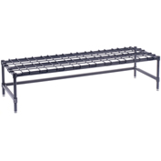 "Stationary Dunnage Rack, Steel, 60""W x 18""D"