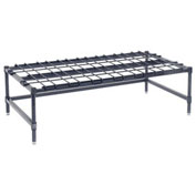 "Stationary Wire Dunnage Rack 48""W x 24""D"