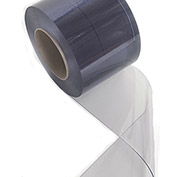 "ALECO Bulk Roll of Strips - 75'Lx12""W Strip - .120"" Thick - Smooth Clear-Flex II"