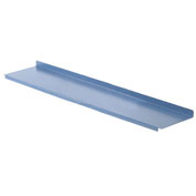 "Lower Shelf For Bench - 72""W x 15""D - Blue"