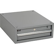 "Stacking Workbench Drawer, Gray, 6""H"