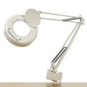Fluorescent Swing Arm Magnifying Lamp, 3 Diopter, White