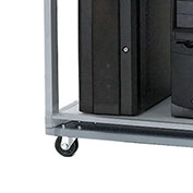 "Caster Base For Server Station, 24""W"