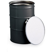 SKOLNIK Carbon Steel Open-Head Drums - Bolt Ring Closure - 55-Gallon - 1.2/0.9/0.9 Mm Thickness