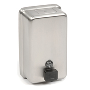 ASI® 0347, Stainless Steel Liquid Soap Dispenser Vertical