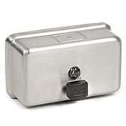 ASI® Stainless Soap Dispenser Horizontal