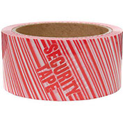 "Carton Sealing Tape ""Security Tape"" Print, 1.9 Mil, 3"" x 110 Yds - Pkg Qty 24"