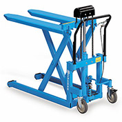"BISHAMON SkidLift Manual Pallet Positioners - 1100-Lb. Capacity - 20-1/2""Wx42-1/2""L Forks"