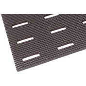 "NoTrax Drainage Mat Chemical Resistant, 36"" x 120"" x 7/16"", Black"