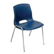 Vented Stackable Chair - Blue - Pkg Qty 4
