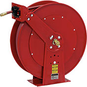 Spring Driven All Steel Hose Reel With 1/2 Inch Hose