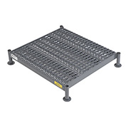 "Tri Arc WLOS524242 24 X 24 Inch Adjustable Height Steel Work Platform - 5""H To 8""H"