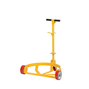 Vestil Low Profile Drum Caddy with Bung Wrench Handle, 30 & 55 Gallon Drum Capacity