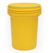 EAGLE Poly Overpack/Salvage Drum - 30-Gallon Capacity - Screw-On Lid
