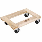 Hardwood Dolly - Open Deck, 24 x 16, 1000 Lb. Capacity