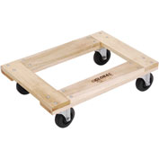 Hardwood Dolly - Open Deck, 24 x 16, 1200 Lb. Capacity