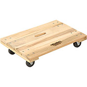 Hardwood Dolly - Solid Deck, 36 x 24, 1000 Lb. Capacity