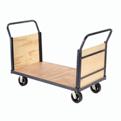 Euro Styel Truck - Wood Ends & Deck, 48 X 24, 2400 Lb. Capacity