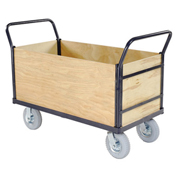 Euro Style Truck - 4 Wood Sides & Deck, 60 x 30, 1200 Lb. Capacity