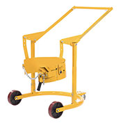 Mobile Drum Carrier for Dispensing 55 Gallon Steel Drums, 800 Lb. Capacity
