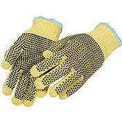 Medium Weight Double-Sided PVC Dots Kevlar® Gloves, Ladies' Size, 1 Pair