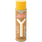 Aervoe 702 Yellow Striper Premium Spray Paint - Pkg Qty 12