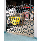 Single Folding Security Gate, 5-1/2'W x 6-1/2'H