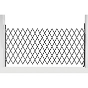 "Single Folding Security Gate, 14-1/2""W to 7-1/2'W x 6-1/2'H"