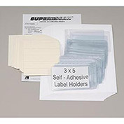 "Self Adhesive Label Holder 5""W X 3""H, 50/Pk"