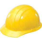 ERB™ Americana Hard Hat, 4-Point Pinlock Suspension, Yellow, 19762