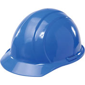 ERB™ Americana Hard Hat, 4-Point Pinlock Suspension, Blue, 19766