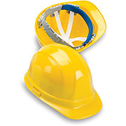 ERB Omega II Poly Hard Hat - Ratchet Adjustment - Yellow