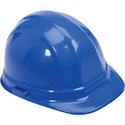 ERB™ Omega II Hard Hat, 6-Point Ratchet Suspension, Blue, 19956