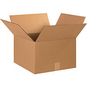 "Cardboard Corrugated Box, 15"" x 15"" x 10, 20 Pack"