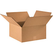 "Cardboard Corrugated Box, 16"" x 16"" x 8, 25 Pack"