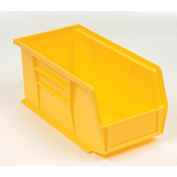 "AkroBin® Plastic Stacking Bin, 5-1/2""W x 10-7/8""D x 5""H, Yellow - Pkg Qty 12"