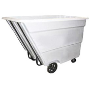 Bayhead 2.2 Cubic Yard Tilt Truck, Medium Duty, 2200 Lb. Capacity, White