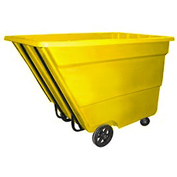 Bayhead 2.2 Cubic Yard Tilt Truck, Medium Duty, 2200 Lb. Capacity, Yellow