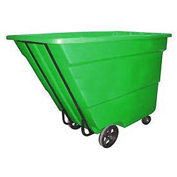 Bayhead 1.7 Cubic Yard Tilt Truck, Medium Duty, 1700 Lb. Capacity, Green