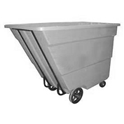 Bayhead 1.7 Cubic Yard Tilt Truck, Medium Duty, 1700 Lb. Capacity, Gray